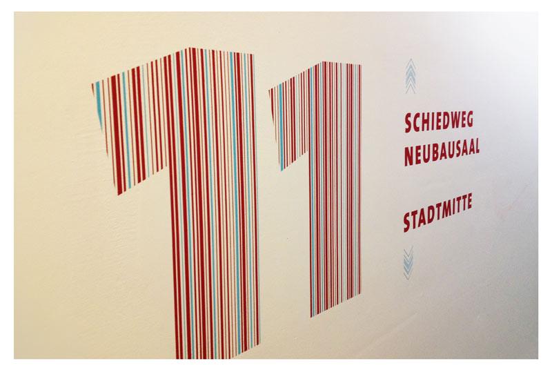 Widmann Gruppe - Maler Wörtz - Senden - Beschriftung
