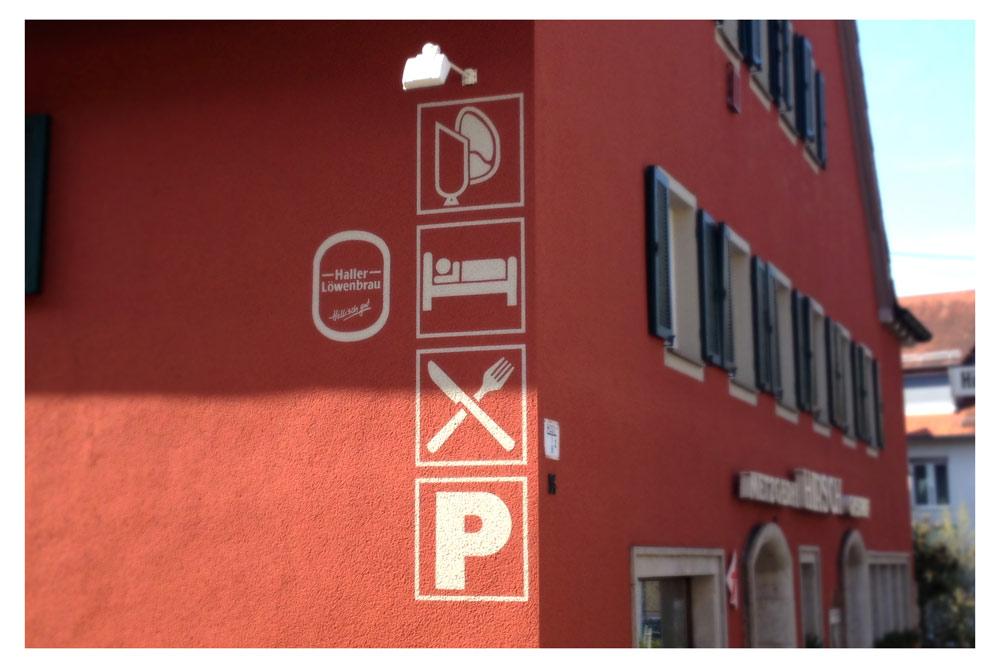 Widmann Gruppe - Maler Wörtz - Senden - Beschriftungen und Markierungen