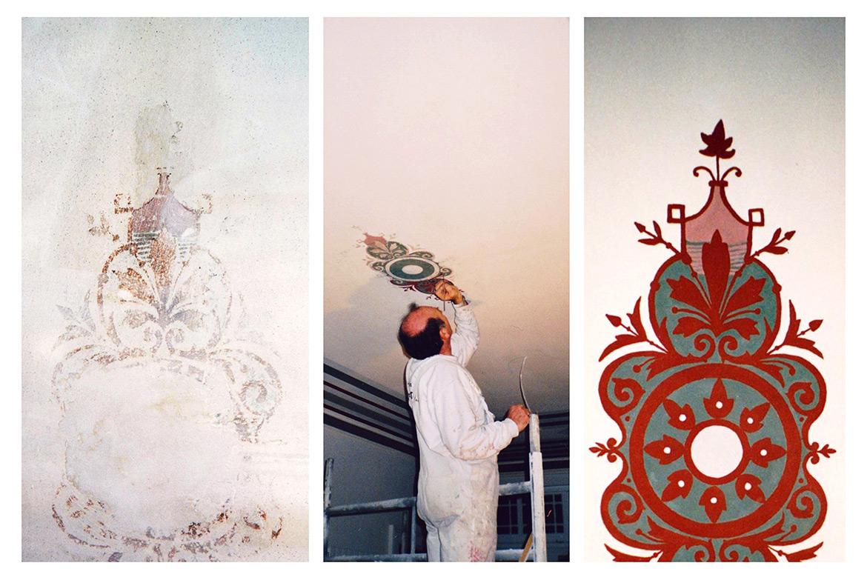 Widmann Gruppe - Maler Wörtz - Senden - Restaurierung