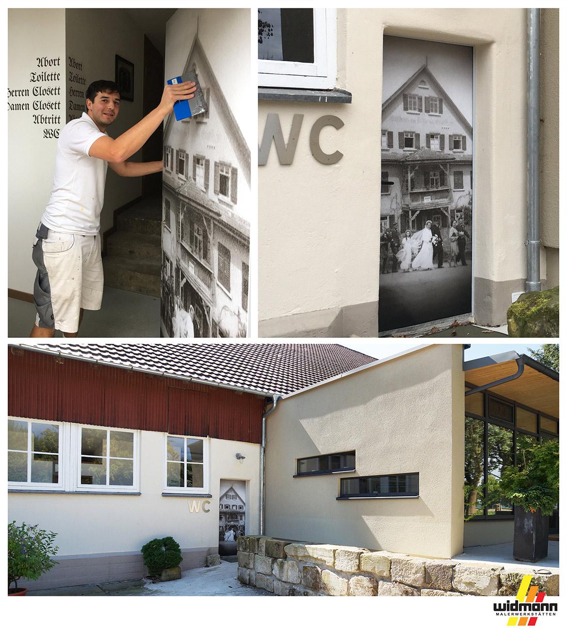 Widmann Gruppe - Maler Wörtz - Senden - Grafisches Raumdesign